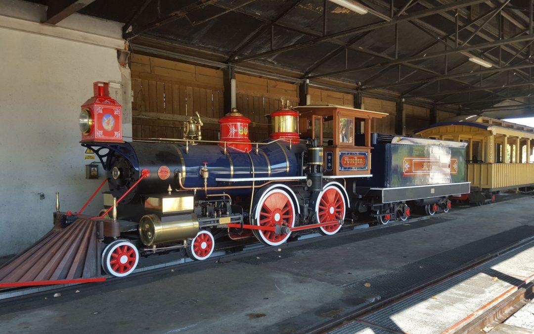 Transformación de locomotoras para Port Aventura