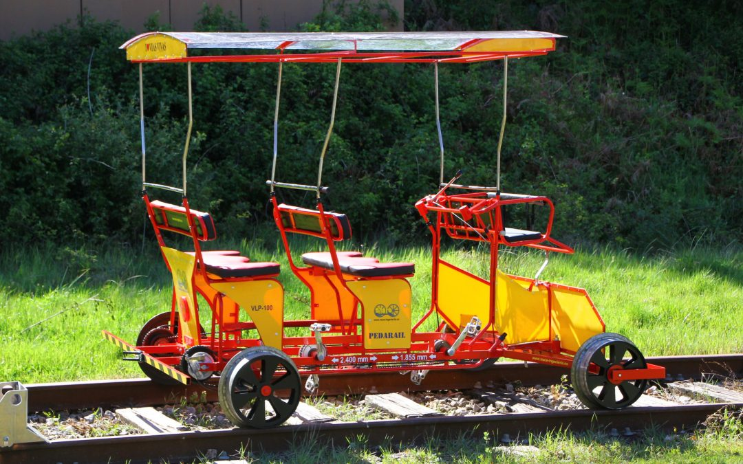 Pedarrail y ferrociclos para ASAM