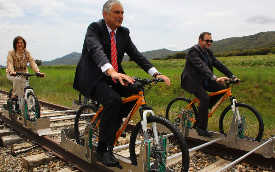 Ferrociclos en Villar del Salz